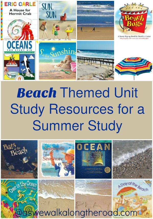 Beach themed unit study resources