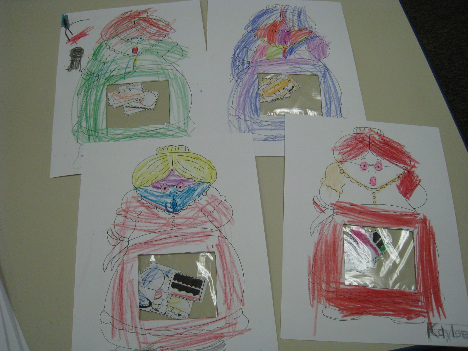 Mrs Russell S Class Old Lady Activity