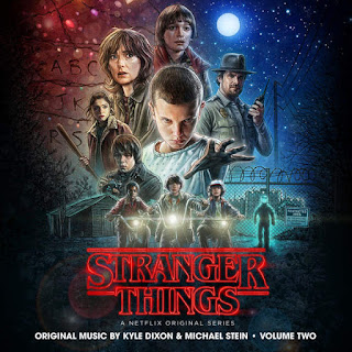 Kyle Dixon & Michael Stein - Stranger Things, Vol. 2 (OST) (2016) - Album Download, Itunes Cover, Official Cover, Album CD Cover Art, Tracklist