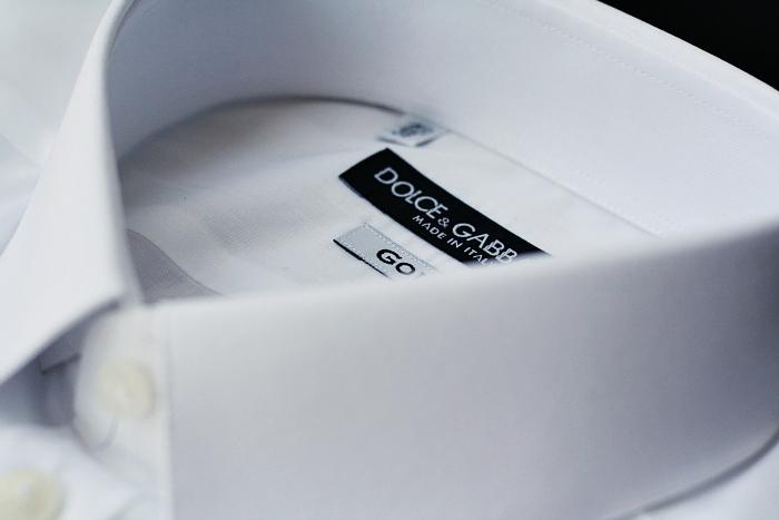 WHITE DRESS SHIRT DOLCE GABBANA DELUXSHIONIST LUXURY HIGH FASHION