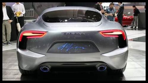 2016 Maserati Alfieri engine