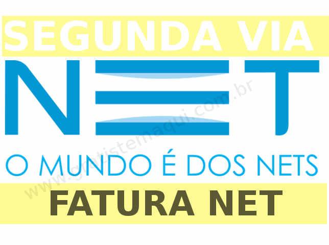 Imagem letras e simbolo Net