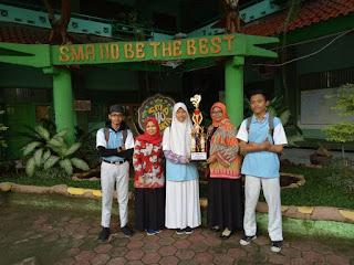 SMAN 110 Juara 2 Pemuda Pelopor Ketahanan Pangan Jakarta utara
