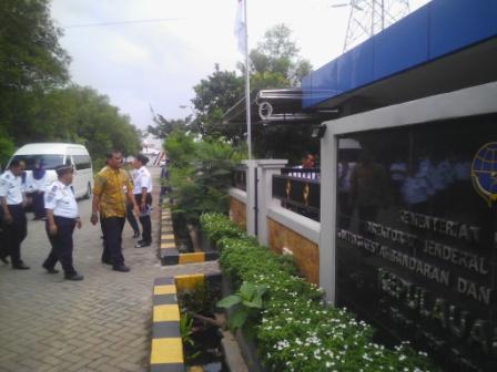Dadakan, Dirjen Hubla Kunjungi UPT di Jakarta Utara