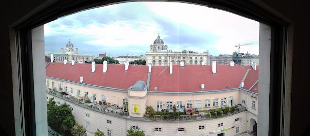 Panorama dal museo Leopold