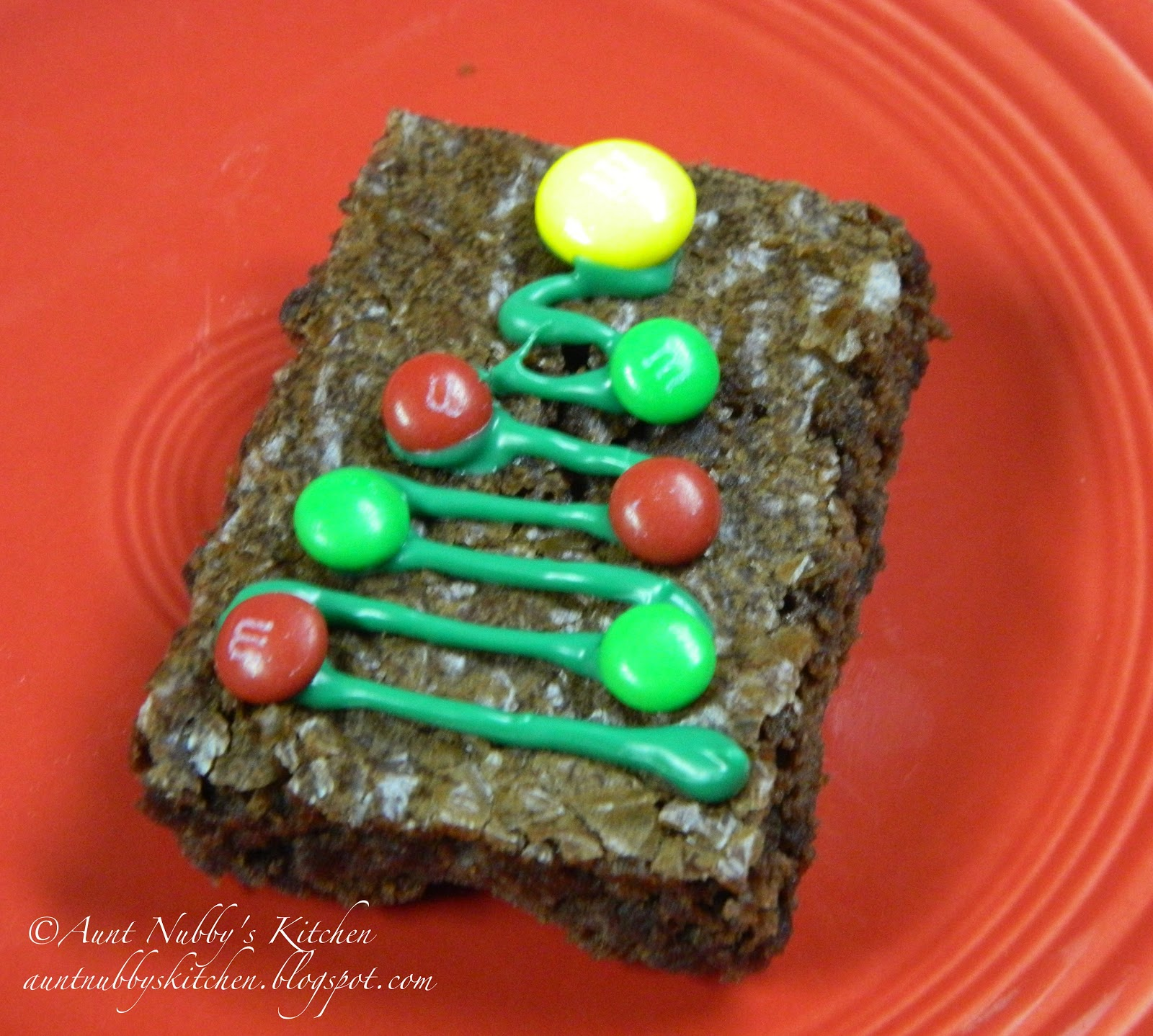 Sugar Spice And Spilled Milk: Christmas Brownies