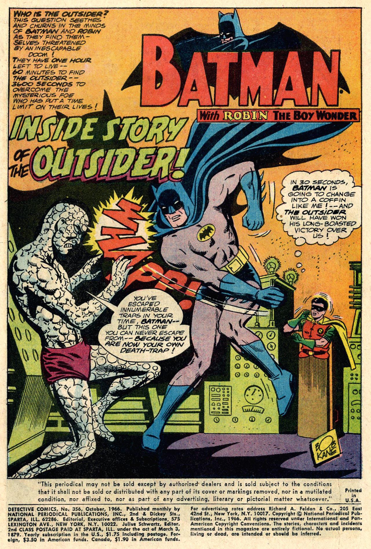 Detective Comics (1937) 356 Page 2