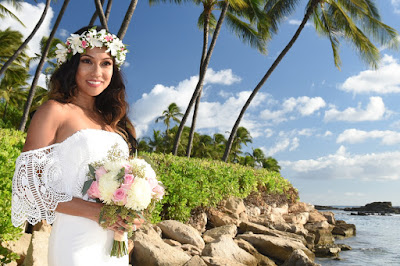 Pretty Hawaii Brides