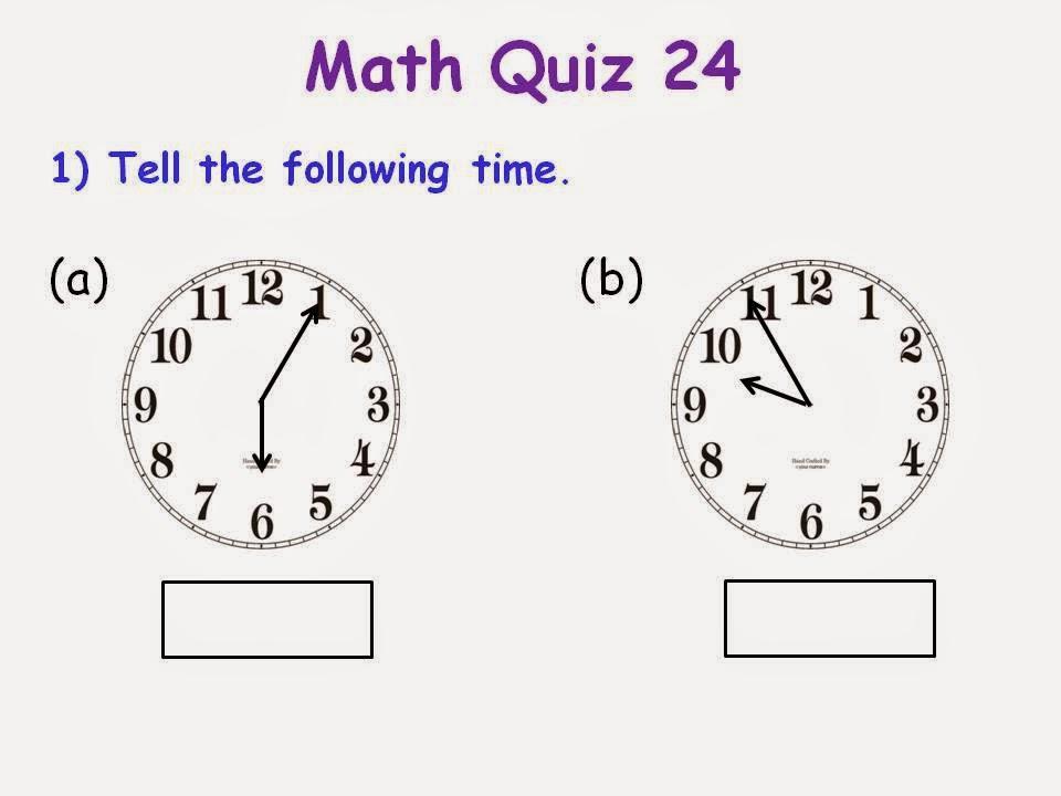 BGPS P2-6 2014: Math Quiz 24