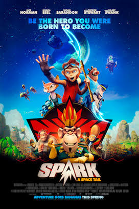 Sinopsis, Cerita & Review Film Spark: A Space Tail (2017)