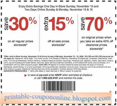 Dealcatcher jcpenney coupon