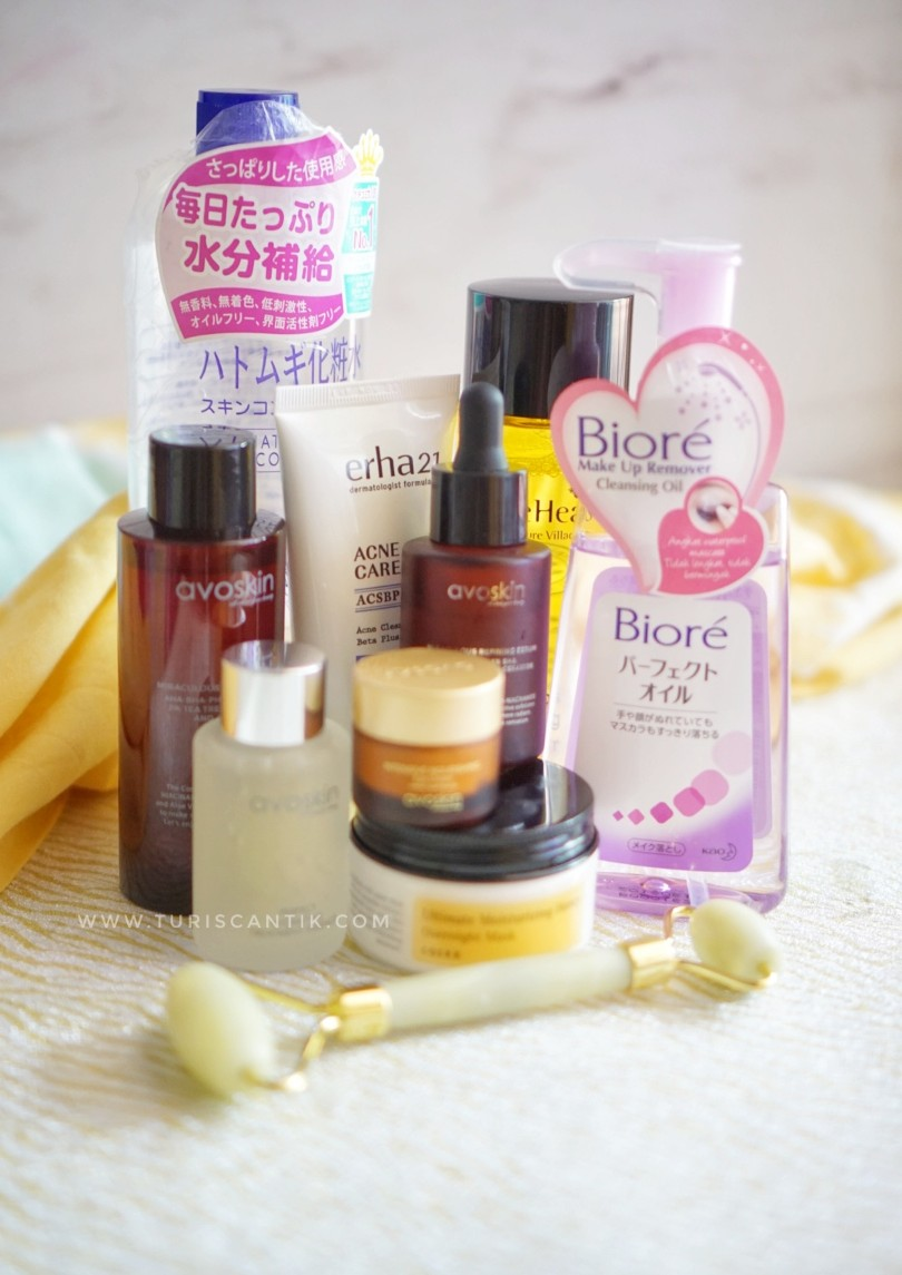 skincare routine kulit berminyak dan berjerawat