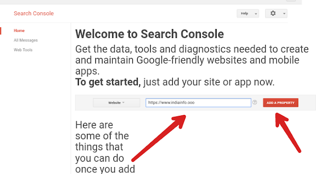 How to submitt website or blog in google webmaster tool