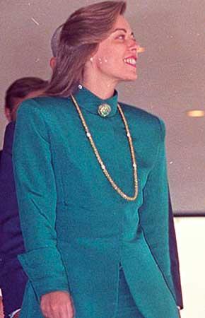 Rosane Malta Collor moda anos 90