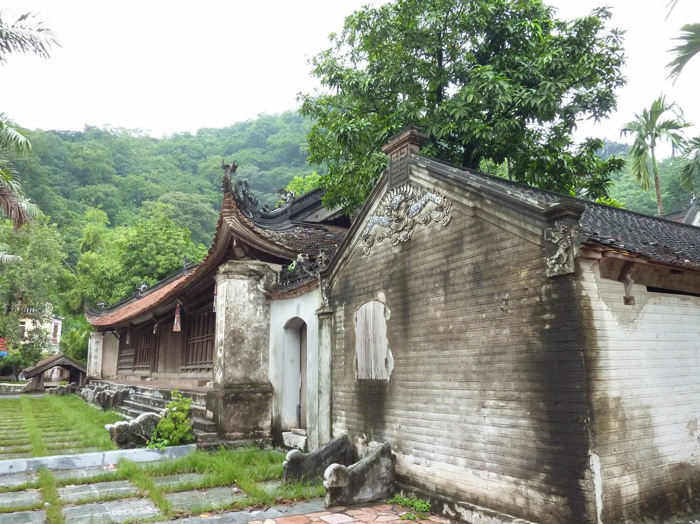 Edificios de la Pagoda Thay