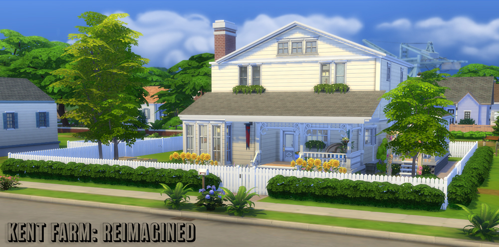 Athsndwords Sims 4 Designs: Kent Farm: Reimagined