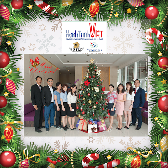 First Christmas of our new office in Lexington, District 2, HCMC