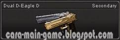 Senjata Point Blank Dual D-Eagle D