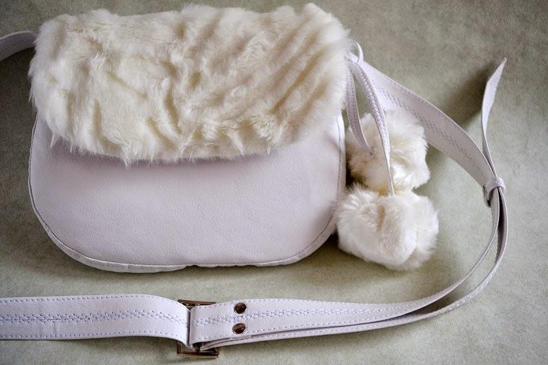 купить сумочку с мехом