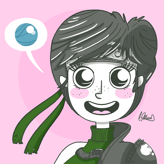 Watermelon Pips: Yuffie: Final Fantasy VII