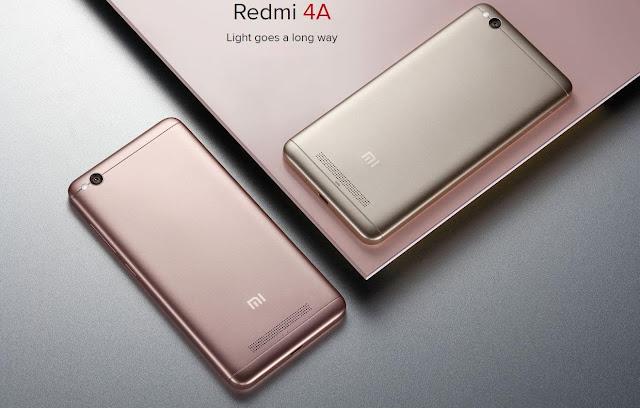 Sekilas Tentang Smartphone Xiaomi Redmi 4A