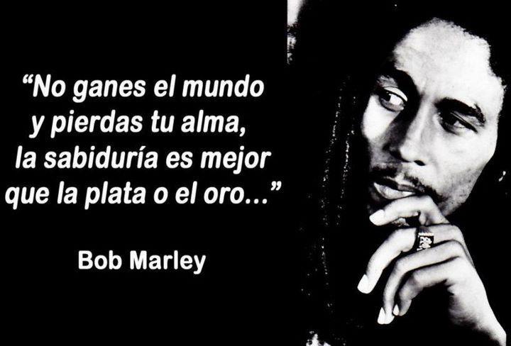 Fraces De Bob Marley: Filósofos De La Vida: Bob Marley : Frases Importantes De