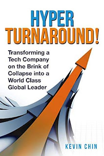 HyperTurnaround!: Transforming a Tech Company on the Brink of Collapse into a World Class Global Leader book promotion service Kevin Chin