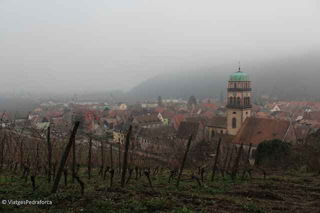 Els pobles de la ruta del vi de l'Alsàcia, els pobles més bonics de França, mercats de Nadal