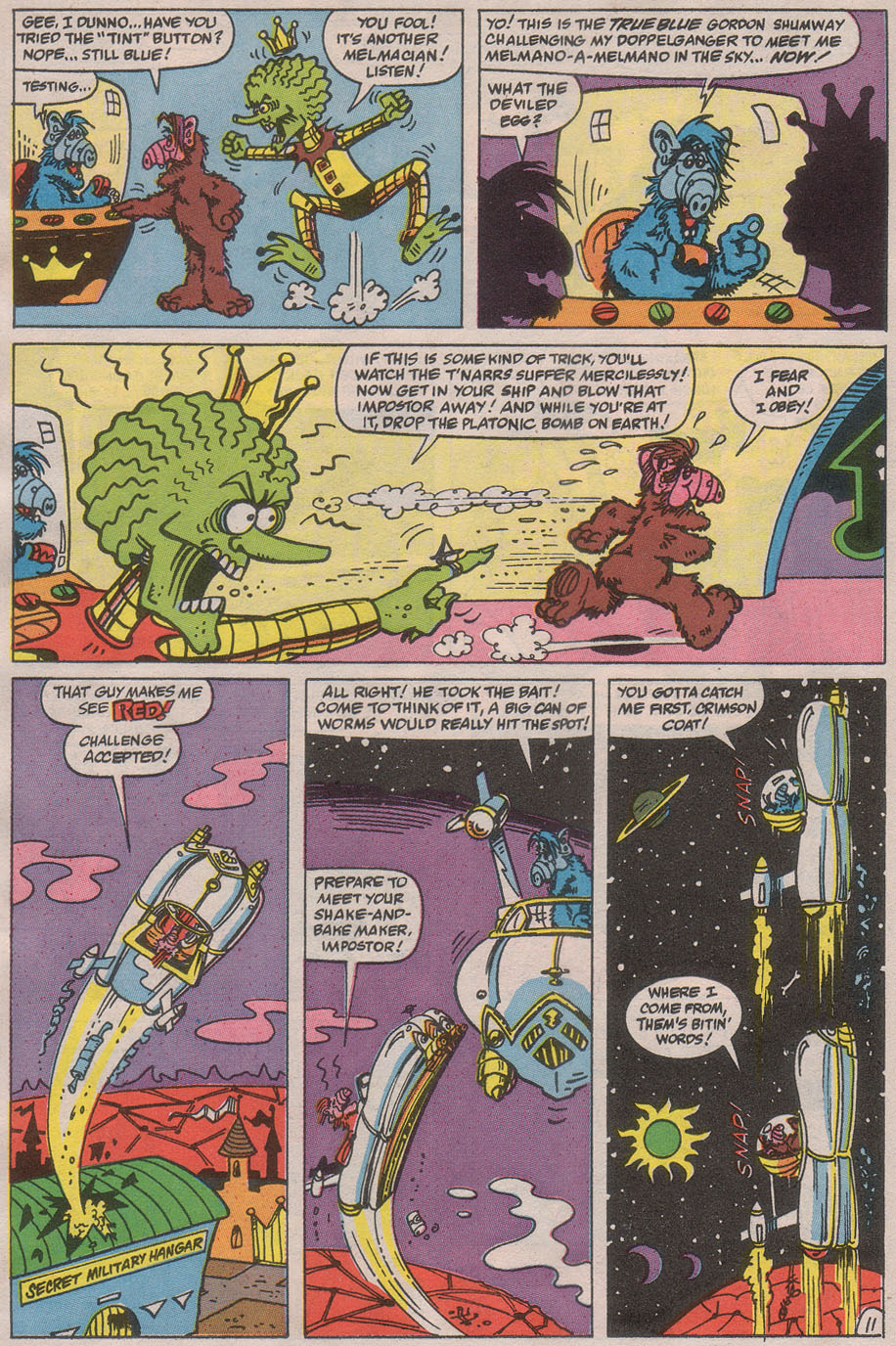 Read online ALF comic -  Issue #36 - 16