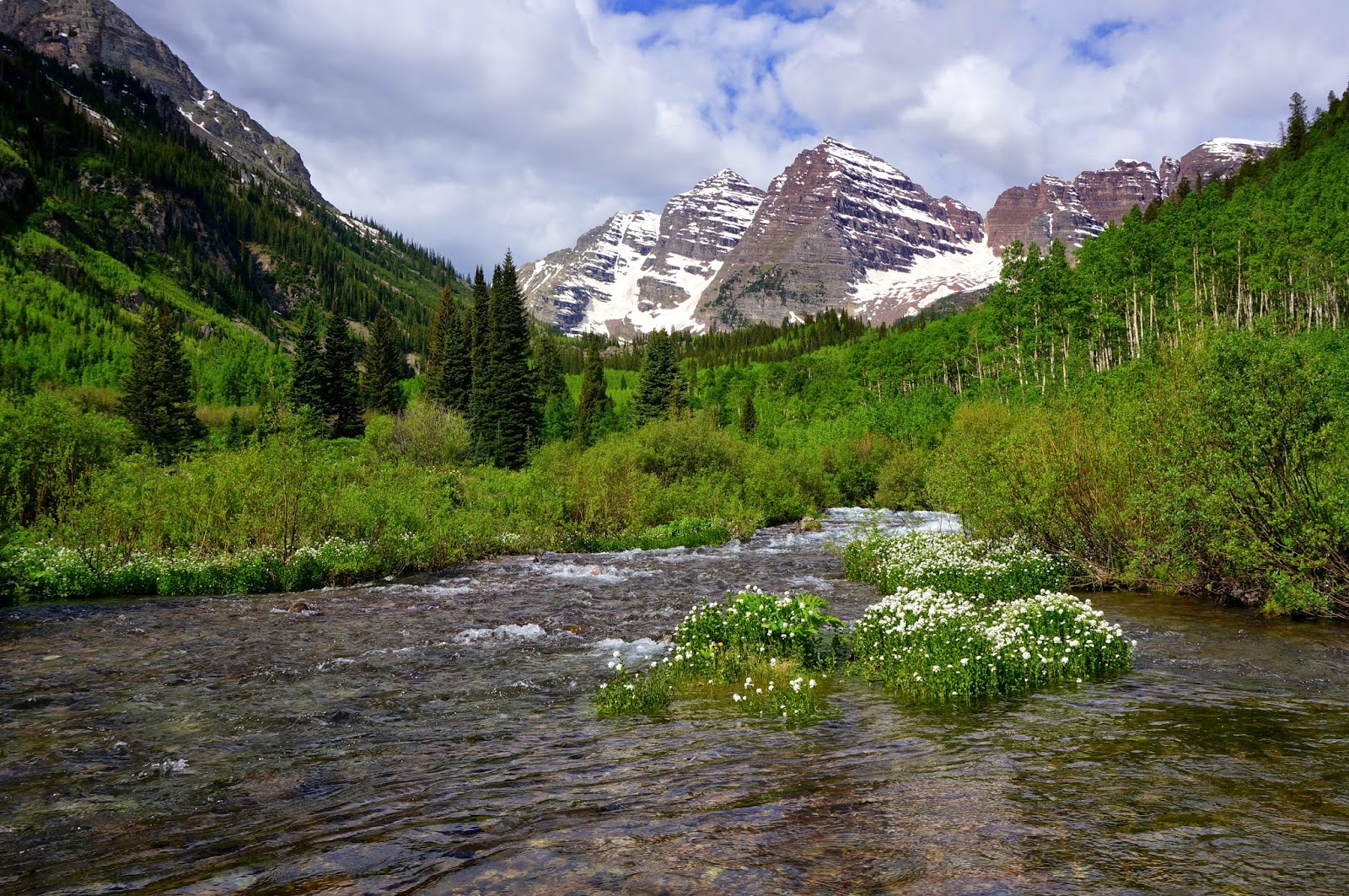 Go Hike Colorado Maroon Lake Crater Lake Maroon Bells