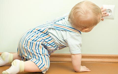 Os acidentes na infância são muito comuns. E a própria casa um dos locais  mais perigosos para as crianças porque 16f078781a0