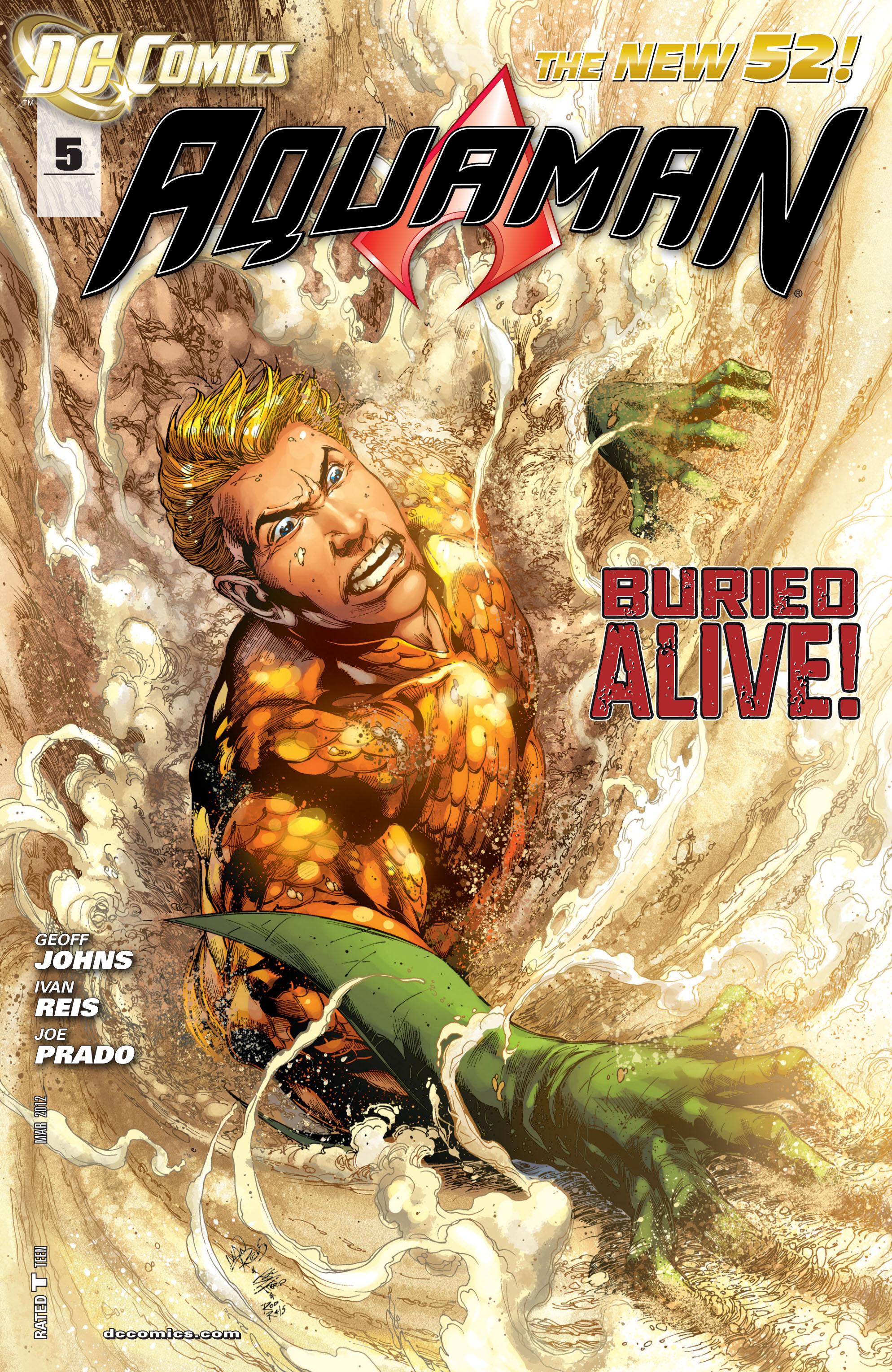 Read online Aquaman (2011) comic -  Issue #5 - 1