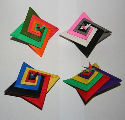 origami maniacs tomoko fuse s spiral. Black Bedroom Furniture Sets. Home Design Ideas