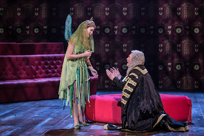 G&S: Iolanthe - Samantha Price, Andrew Shore  - English National Opera (Photo Clive Barda)