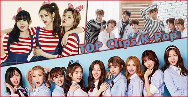 Top 5 - clips K-pop préférés