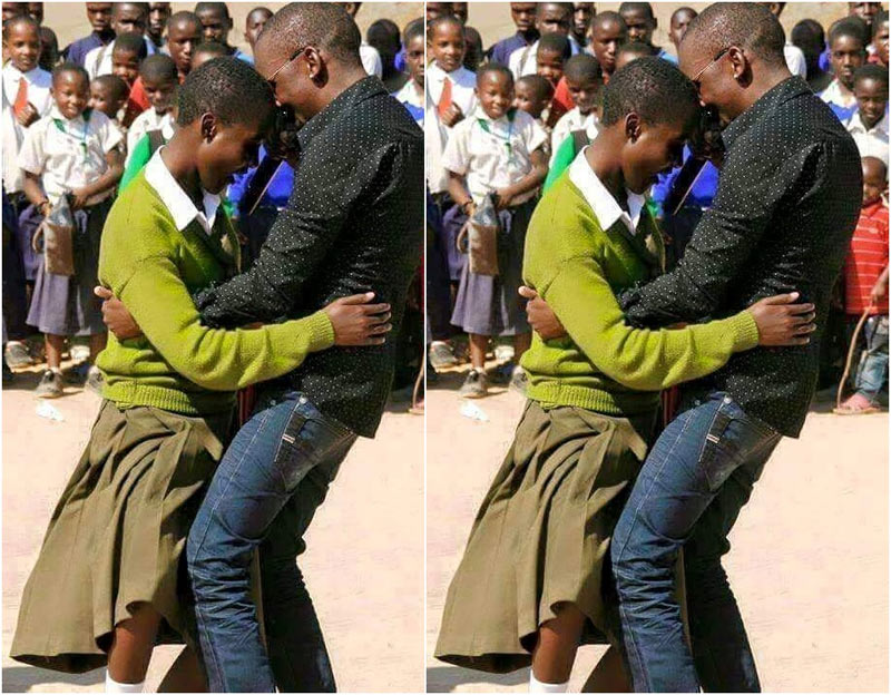 Kenyan MC and school pupil dance into hall of fame with provocative moves