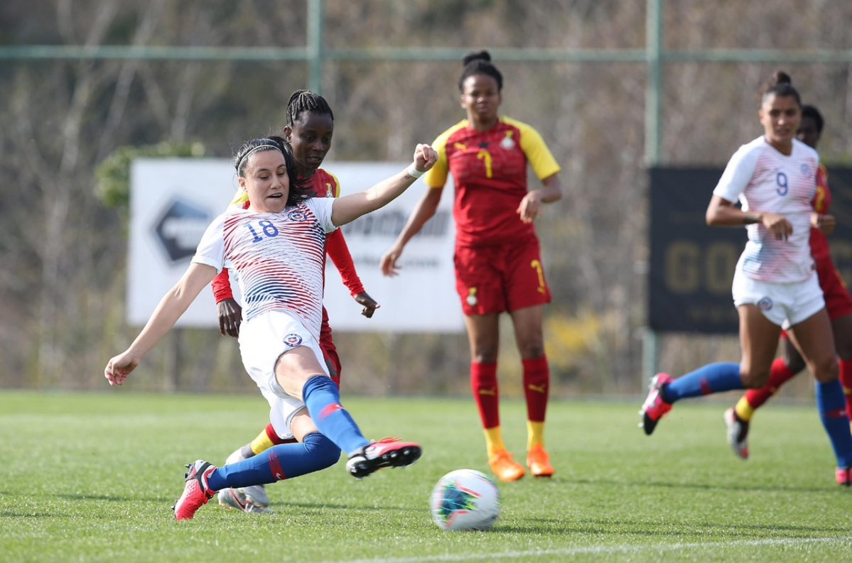 Chile y Ghana en Turkish Women's Cup, 4 de marzo de 2020