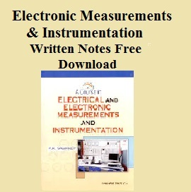 Electrical Measurements And Instrumentation By Bakshi Pdf