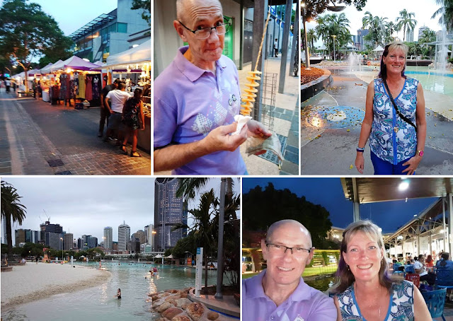 Southbank Brisbane - water, food, markets, and much more