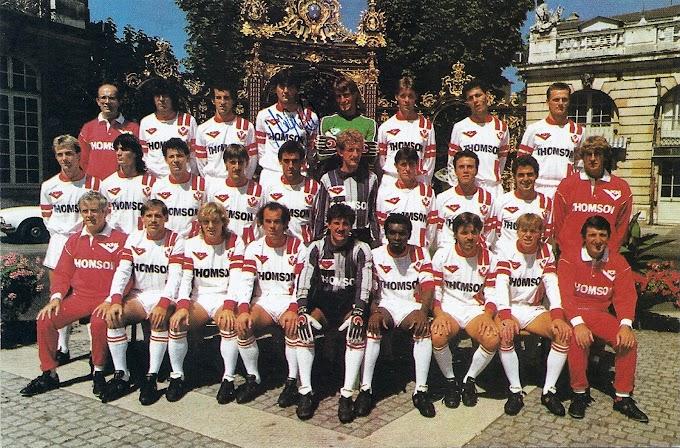 A.S NANCY-LORRAINE 1986-87.