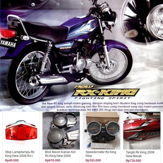 Suku Cadang Yamaha RX King New