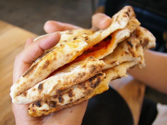 Pizzaiolo Micheluccio, Camberwell, pizza, folded