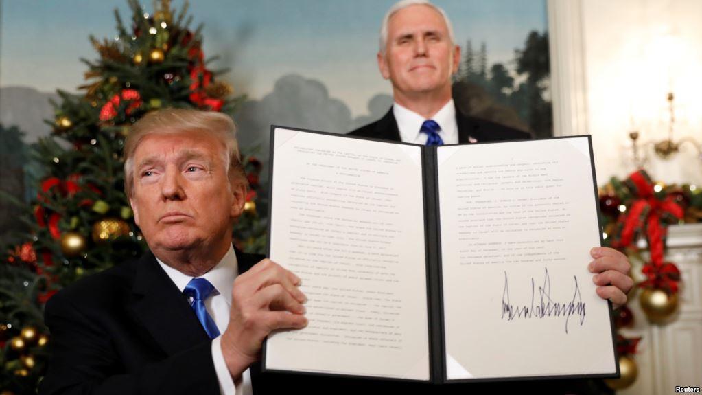 Presidente de EEUU manifiesta su respaldo a Israel