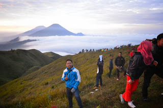 Gunung Prau 2565 mdpl Dieng Wonosobo Jawa Tengah