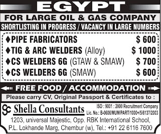 Oil & Gas Company jobs in Egypt