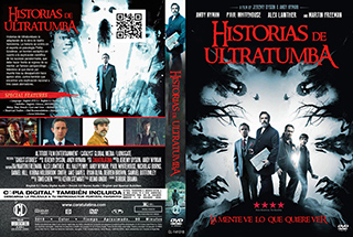 Ghost Stories - Historias de ultratumba - Cover DVD