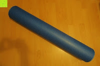 ausgepackt: High Pulse Pilates-Rolle – Die multifunktionale Schaumstoff-Rolle ideal zur Massage, Gymnastik und Muskelkräftigung, 90x15cm