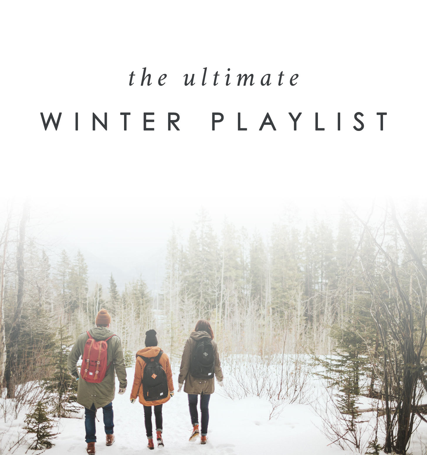 Winter, Playlist, Spotify, Music, Indie, Bramble and Thorn