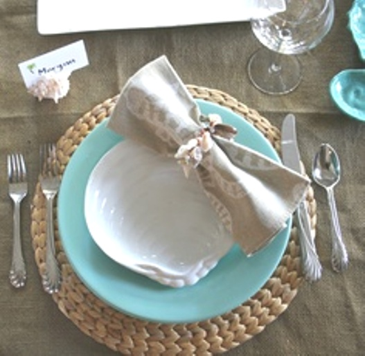 Summer Beach Tablescape And A Summer Tablescape Party: Ciao! Newport Beach: Easy Summer Tablescapes