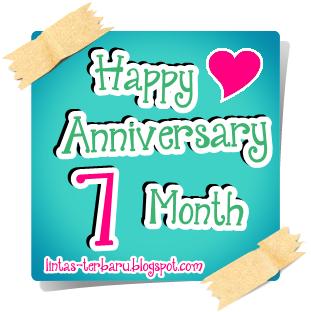 Gambar DP BBM Happy Anniversary buat Pacar